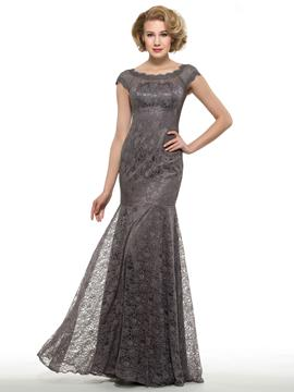 Ericdress Elegant Scoop Lace Mermaid Mother Of The Bride Dress