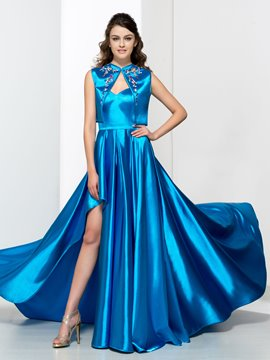 Ericdress A-Line Sweetheart Beading Split-Front Prom Dress With Jacket