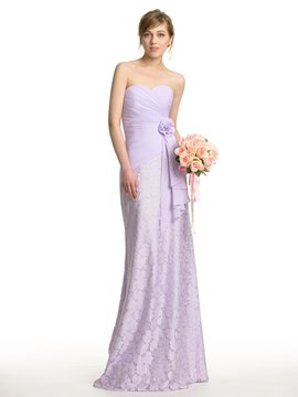 Ericdress Beautiful Sweetheart Lace Bridesmaid Dress