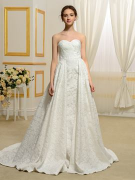 Ericdress Fancy Sweetheart Lace Wedding Dress