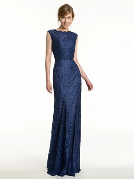 Ericdress Charming Lace Backless Bridesmaid Dress