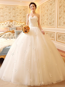 Ericdress Beautiful Sweetheart Ball Gown Wedding Dress