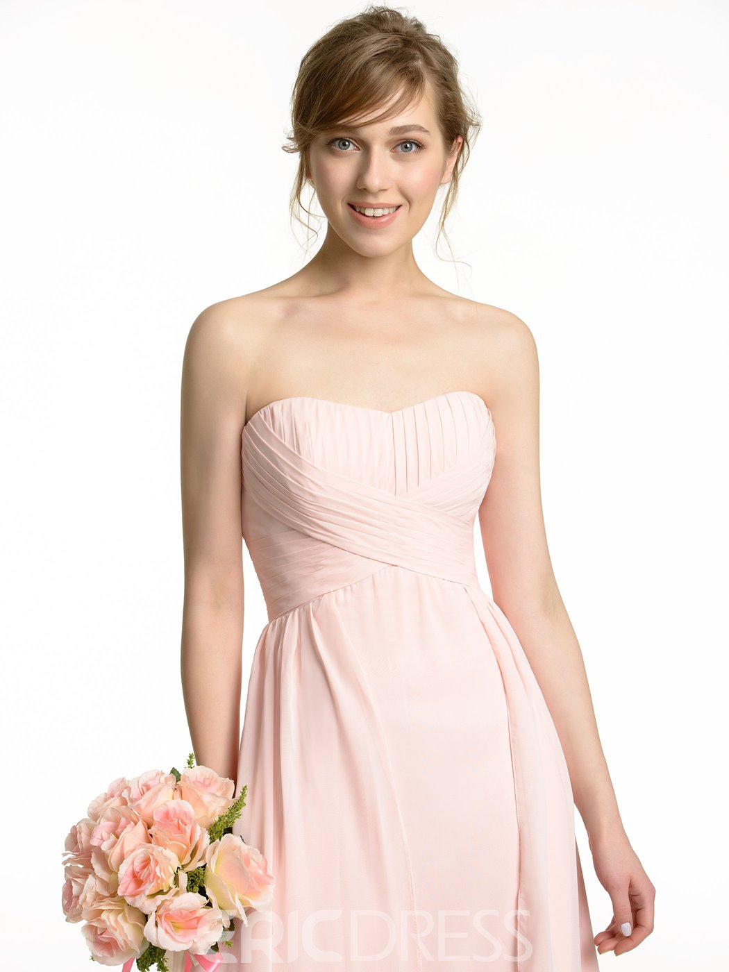 Ericdress High Quality Asymmetry Bridesmaid Dress