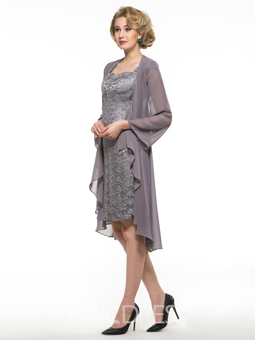 Ericdress Sheath Lace Mother Of The Bride Dress With Jacket