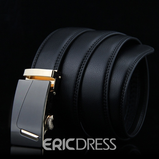 Ericdress Golden Alloy Buckle Men's Automatic Belt