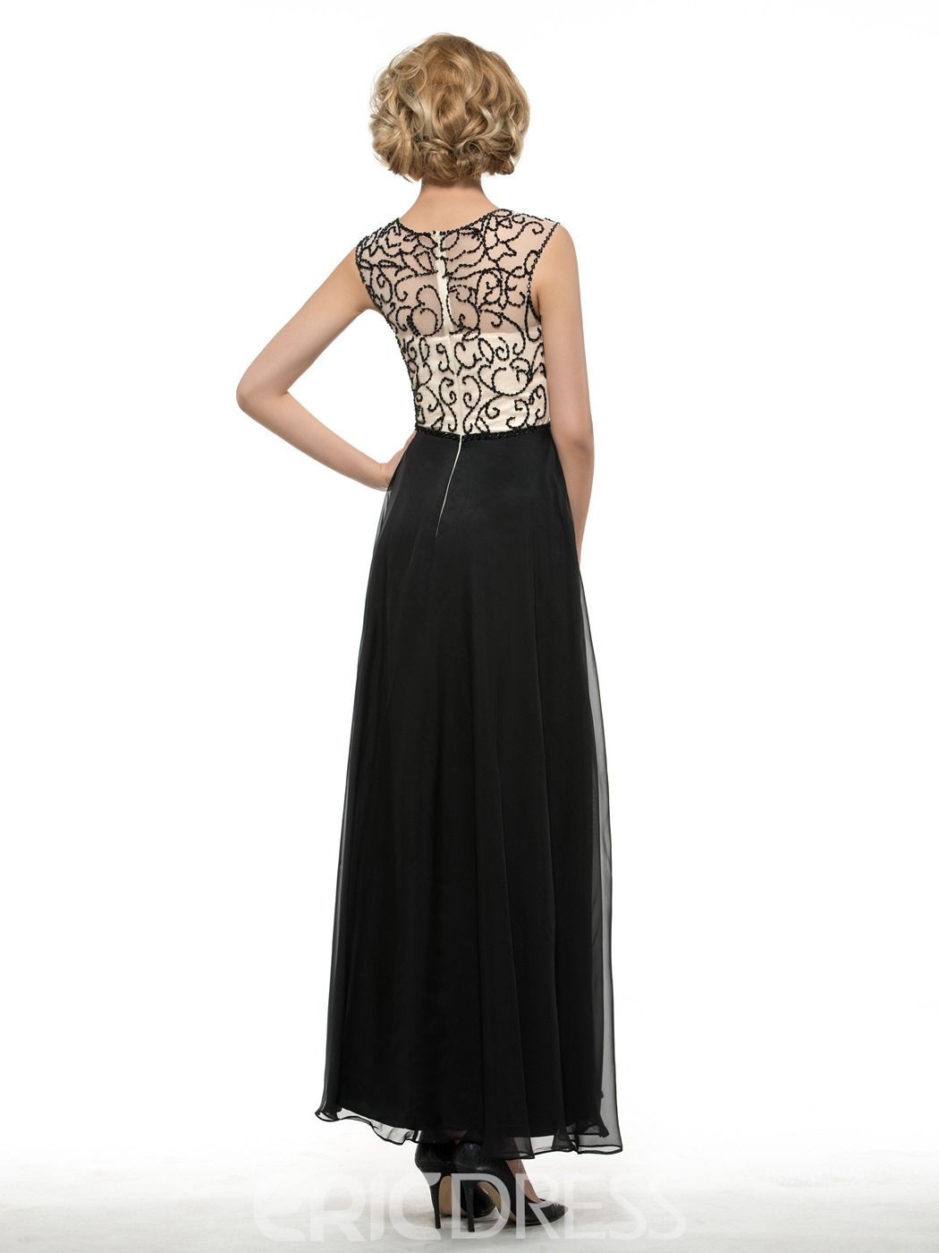 Ericdress Sequins Beading Ankle-Length Mother Of The Bride Dress