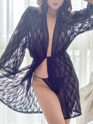Ericdress Lace See-Through Nightwear фото