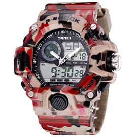 Ericdress Cool doble movimiento Sports Watch de Men