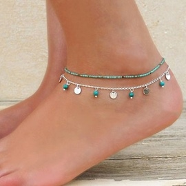 Ericdress Bohemian Sequins Decorated Anklet