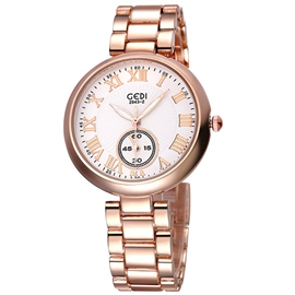 Ericdress Diamante Roman Numerals Scale Watch For Women