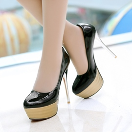 Ericdress Patent Leather Pumps