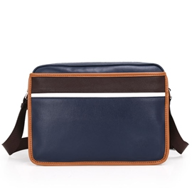 Ericdress Stripe Decorated Men's Shoulder Bag
