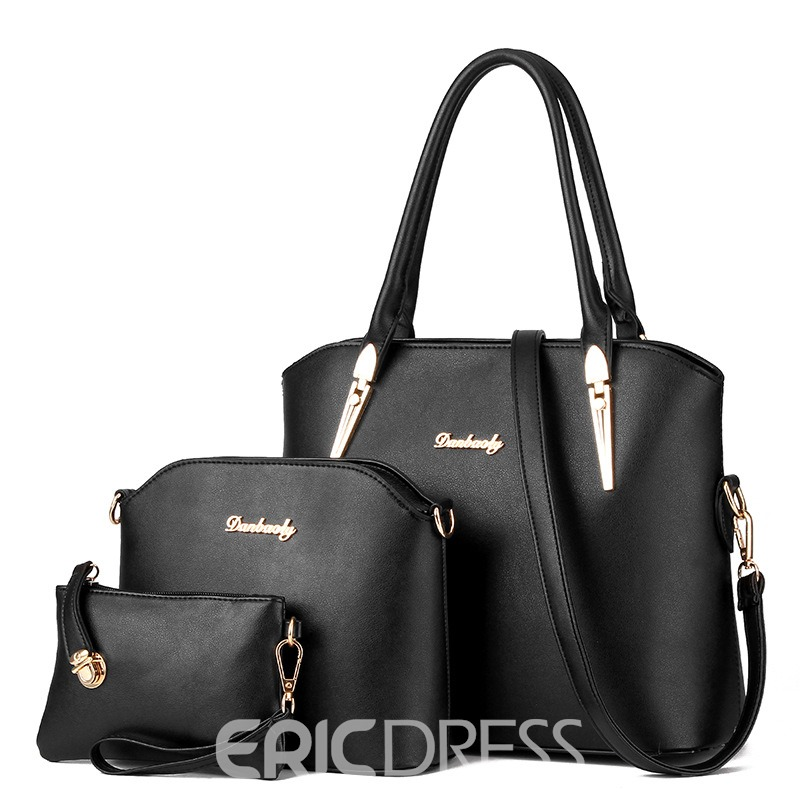Ericdress Celebrity Letter Decorated Handbags(3 Bags)