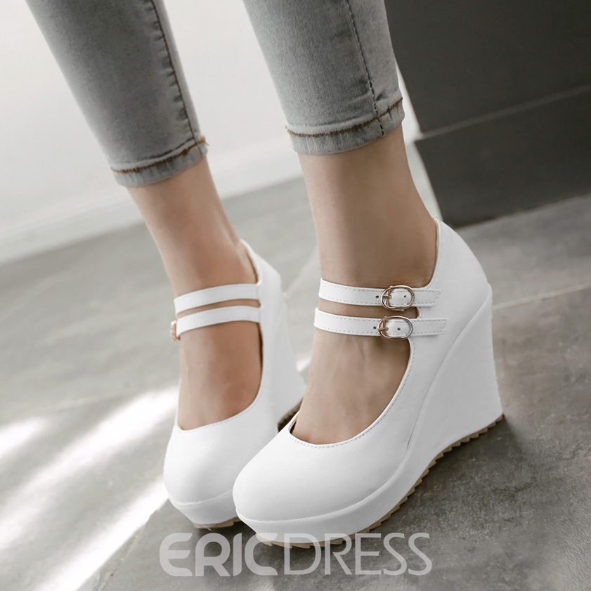 Ericdress Lovely Strappy Wedges