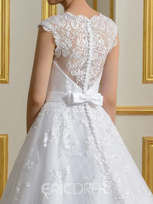 Ericdress Elegant A Line Lace Wedding Dress