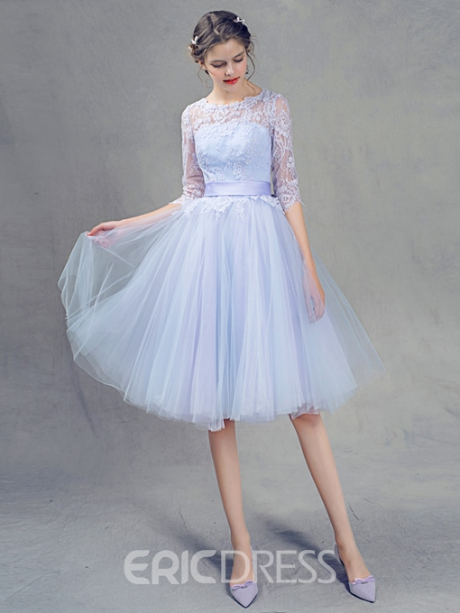 Ericdress Beautiful Lace A Line Bridesmaid Dress