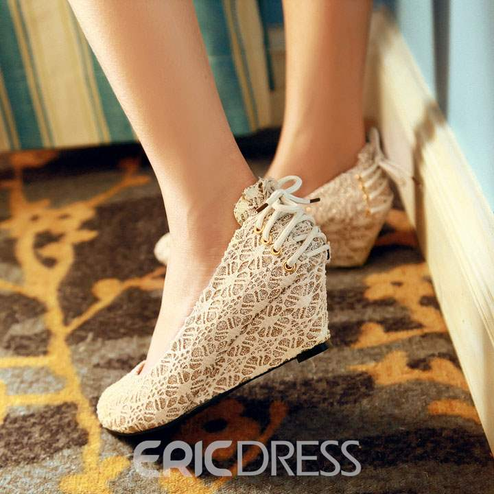 Ericdress Charming Lace Wedges