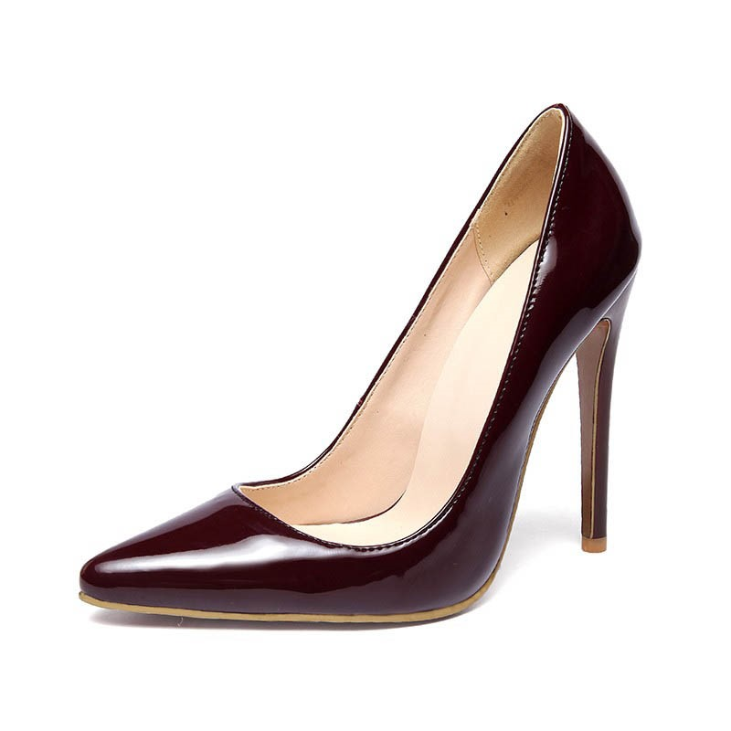 Ericdress Graceful Patent Leather Point Toe Pumps