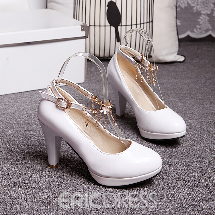 Ericdress Dreaming Rhinestone Tassels Prom Shoes
