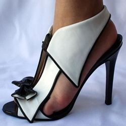 Ericdress Classic Bowtie Stiletto Sandals фото