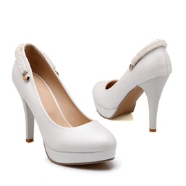 Ericdress Bright Pearl perles Prom Shoes