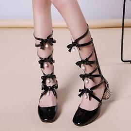 Ericdress Fashion Bowtie Flat Sandals
