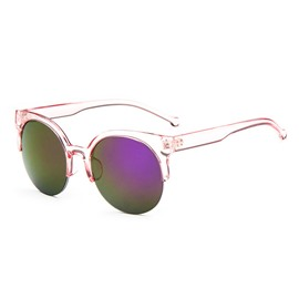 Ericdress Transparent Half Frame Sunglasses