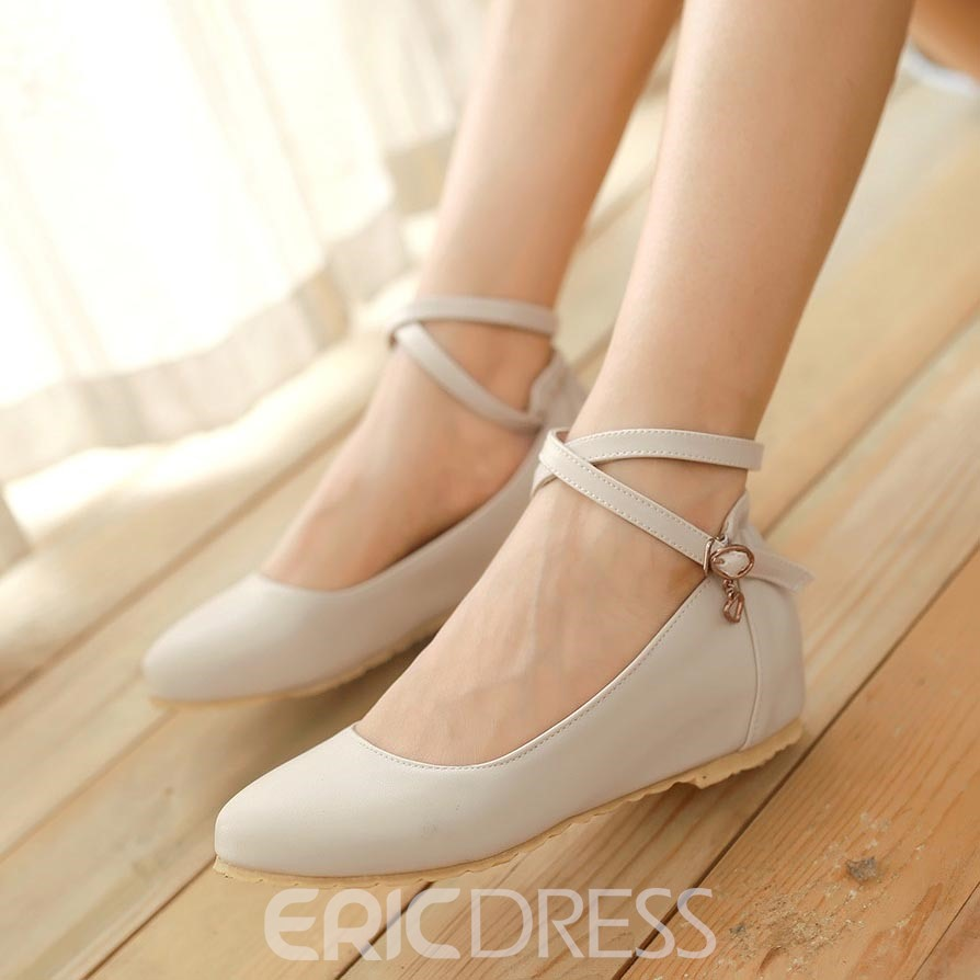Ericdress Sweet Candy Color Flats
