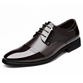 Ericdress New Patchwork Lace up Men's Oxfords