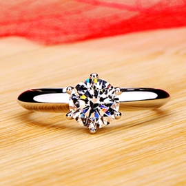 Ericdress Temperament Wedding NSCD Diamond Ring