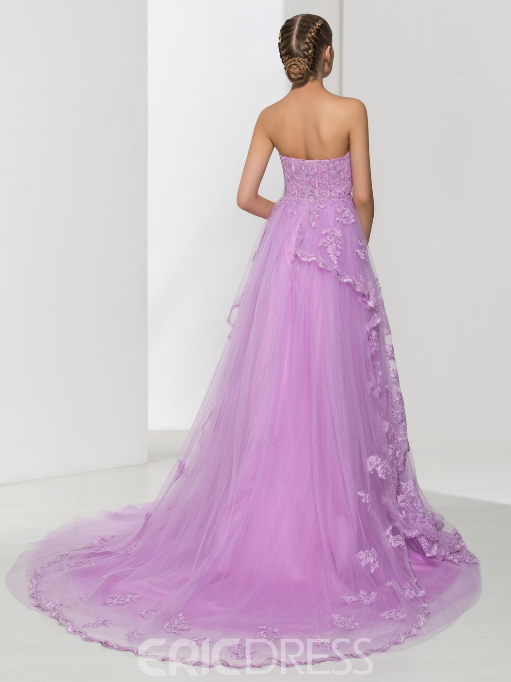 Ericdress Sweetheart Appliques Long Prom Dress