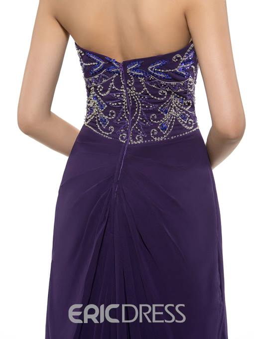 Ericdress Gorgeous Sweetheart Beading A Line Mother Of The Bride Dress With Wrap