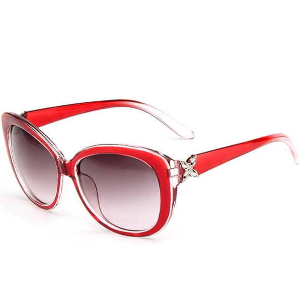 Ericdress Vintage Alloy Flower Decorated Sunglasses