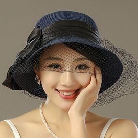 Ericdress British Style Lace Sunhat