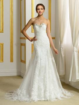 Ericdress High Quality Sweetheart Sheath Wedding Dress