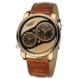 Ericdress Exquisite Double Movement Men's Watch