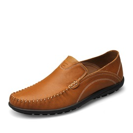 Ericdress Slip-On Flat Heel Men's Loafers