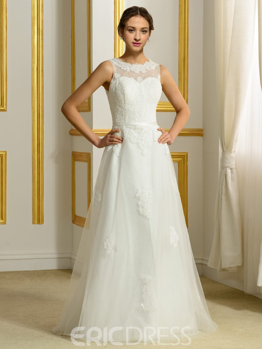 Ericdress Casual A Line Wedding Dress
