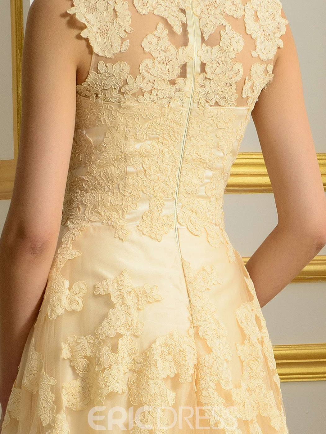 Ericdress Unique A Line Wedding Dress