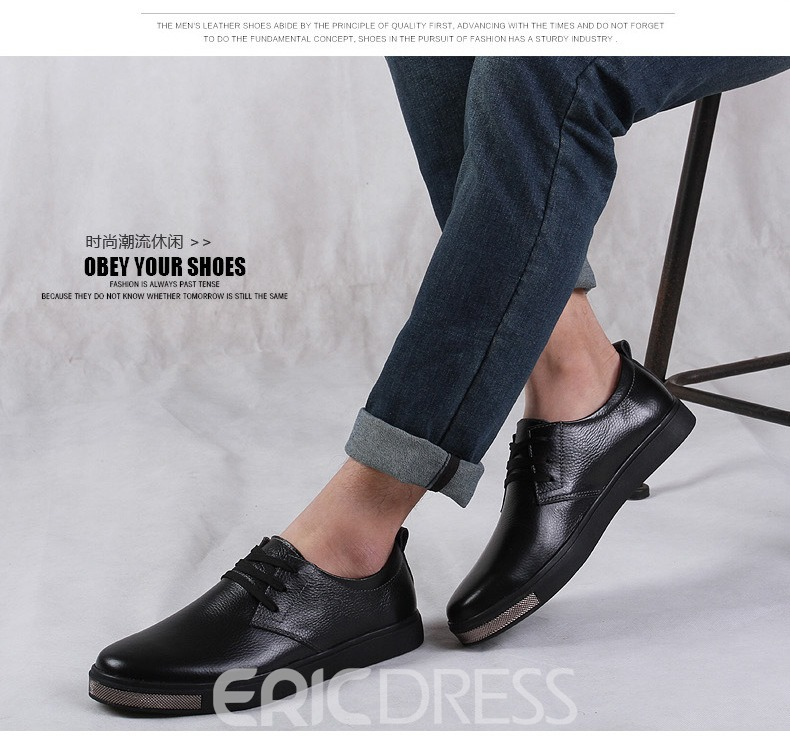 Ericdress Round Toe Low-Cut Men's Casual Shoes