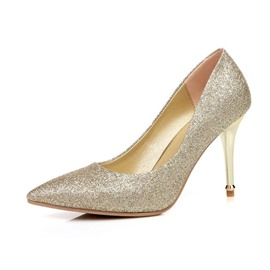 Ericdress Sequins Point Toe Pumps
