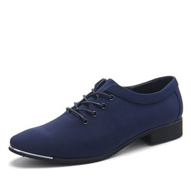Ericdress Plaza Toe Cruz correa señaló Oxford Toe masculino