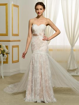 Ericdress Amazing Mermaid Lace Wedding Dress