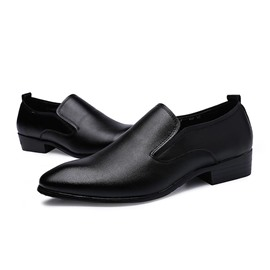 Ericdress Black Point Toe Men's Oxfords