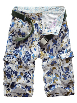 Ericdress Loose Print Casual Men's Shorts