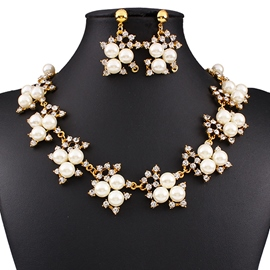 Ericdress All Match Pearl Jewelry Set
