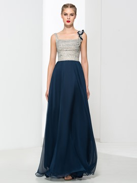 Ericdress Straps Beading Sequins Prom Dress