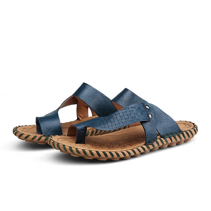 Ericdress PU Ring-Toe Men's Slippers