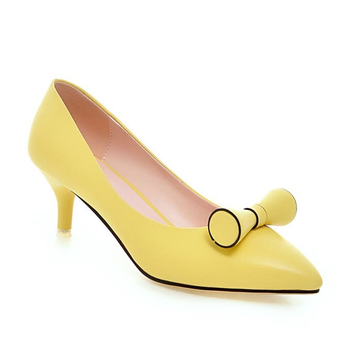 Ericdress Candy Color Point Toe Pumps