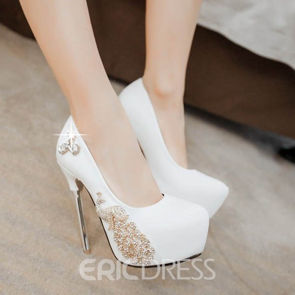 Ericdress Rhinestone Stiletto Heel Pumps